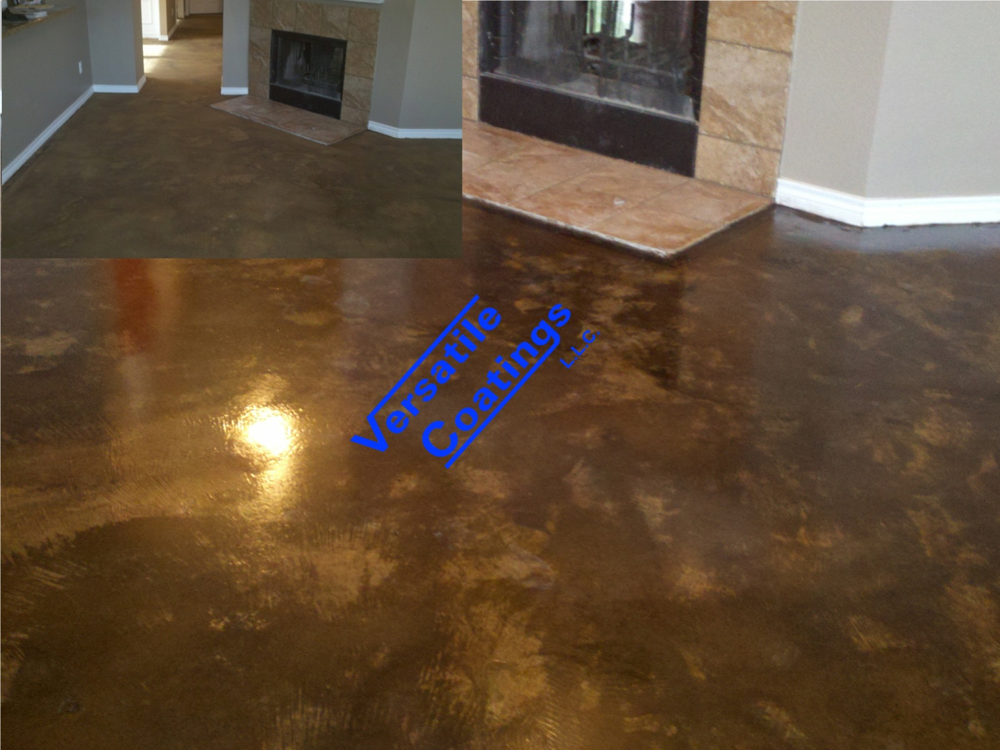 Concrete Staining Acid Stain Waterbased Stain
